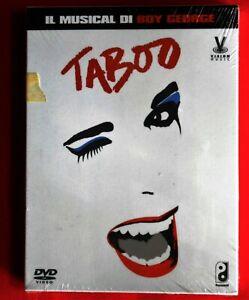 3 dvd boy george taboo musical venue theatre of london ronnie scott's jazz club