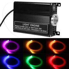 150pcs 16W RGBW LED 2M Fibre Optique CâblePlafonniers Ciel Etoilé Décor Lumière
