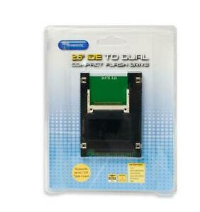Dual CF to 2.5 Inch 44 Pin IDE HD Compact Flash Adapter SD-ADA45006