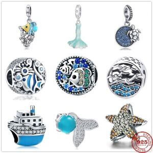 New Arrival 925 Sterling Silver European Dangle Charm Bead Bracelet Women Charms