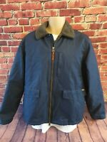 Quality Vintage Woolrich Cotton  with Fleece Lined Jacket  Bargain Price