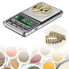 Digital Weighing Scales Pocket Grams Small Kitchen Gold Jewellery 0.01G-500G