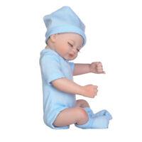10inch Realistic Reborn Baby Boy Doll Newborn Infant Toy Kids Sleeping Toy