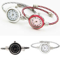 ITS- Women Chic Slim Steel Wire Band Quartz Analog Bracelet Bangle Wrist Watch S