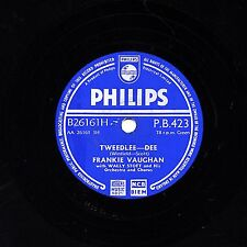 CLASSIC FRANKIE VAUGHAN 78 TWEEDLEE-DEE / GIVE ME THE MOONLIGHT PHILIPS PB 423 E