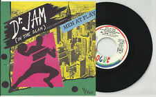 MEN AT PLAY  pic sleeve 45 DR. JAM x 2 France