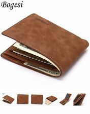 Mens luxury leather wallet in brown / Bogesi / Uk shop fast dispatch & delivery
