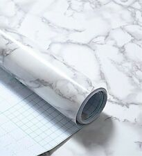 Grey Granite Look Marble Gloss Film Vinyl Self Adhesive Counter Top Peel And