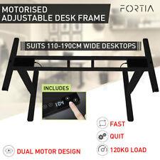 Avante Motorised Ergonomic Desk Frame - Black