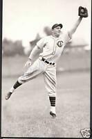 BILLY HERMAN Signed Autographed Baseball Postcard HOF Brooklyn Dodgers