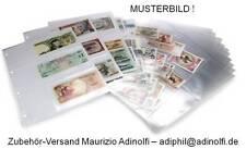 Folienblätter für Banknoten Geldscheine  15er-Pack (SAFE 5483)