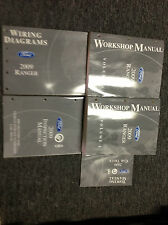 2009 FORD RANGER TRUCK Service Shop Repair Manual Set W EWD + INSPECTION BOOK +