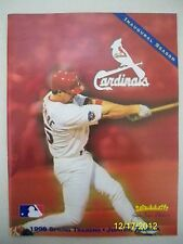 1998 ST. LOUIS CARDINALS SPRING TRAINING PROGRAM - MINT - McGWIRE ON COVER