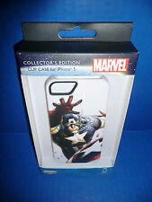Captain America iPhone 5 Clip Case Collector's Edition (Fits iPhone 5 & 5s) New!