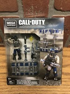 NEW Mega Construx Call of Duty NAVY WEAPON CRATE GFW76 39 pcs 2019