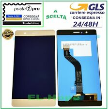 DISPLAY LCD HUAWEI P9 LITE VNS-L31 L23 L21 TOUCH SCREEN SCHERMO VETRO ORO GOLD