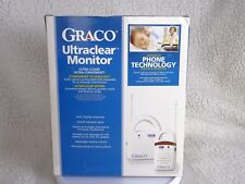 Graco Ultraclear Monitor Advanced Phone Technology Sound Lights Baby Monitor
