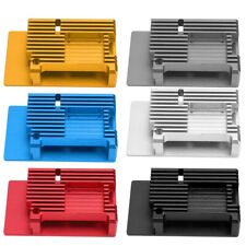 For Raspberry Pi 4 Metal Armor Case Cooling Fan Heatsink Aluminium Alloy Case