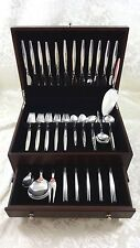 Grace by Orla Vagn Mogensen Sterling Silver Flatware Set Service 77 Pieces