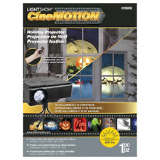 FREE SHIP! Gemmy Lightshow Cinemotion Holiday Projector Christmas & Halloween!!