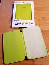 "GENUINE Samsung Galaxy TAB 3 7"" Book Cover GREEN PACKAGING TATTY"