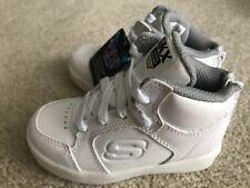 0ea38e7cc6bf Skechers Energy Lights-Gusto Flash White Infant Boys Light-Up Sneaker Size  7M