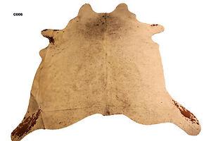 NATURAL COWHIDE RUG+FREE cowhide rug cleanser