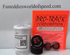 Pro-Track Pro Star Drag Tire Set Black 1 3/16 x .500  with Fronts