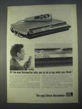 1966 Edison Voicewriter Ad - Say What You Think