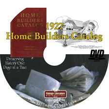 1927 Home Builders Vintage Home Plans Catalog { Hundreds of Floor Plans } on DVD