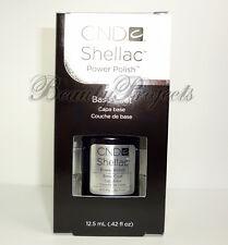CND Shellac Base Coat .42oz LARGE SIZE new with box LED/UV gel fast shipping NEW