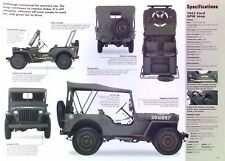 1942 Ford Willys/Overland US ARMY Jeep 134ci Info/Specs/photo 11x8