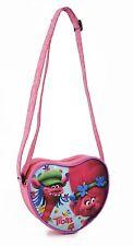 Borsa tracolla Trolls Dream Big Borsa Sportiva cuore Bambine 18 cm, Multicolore