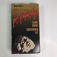 Count Dracula VHS Klaus Kinski, Christopher Lee; Jess Franco VHS