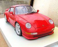1/18  UT/Minichamps  v. RARE  PORSCHE 911,  993,  carrera  RS,  red,  mint++