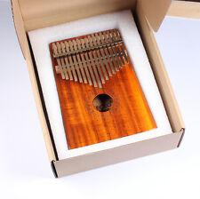 kalimba Finger piano gecko k17k 17key KOA wood  Solid wood