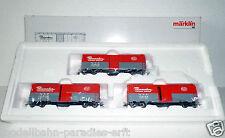 Märklin H0 45648, Wagen-Set Pacemacker NYC gedeckte Wagen, USA (W6356)OVP