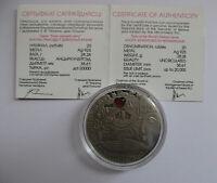 BELARUS WEIßRUSSLAND 20 ROUBLE 2007 ALICE IN WONDERLAND SILVER SILBER