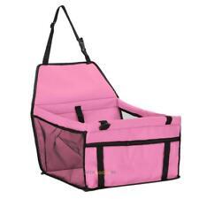 Portable Dog Puppy Cat Car Seat Carrier Belt Booster Travel Folding Bag For Pet