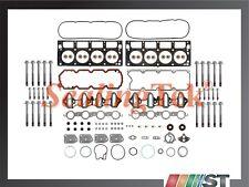 Fit GM 4.8L 5.3L V8 Vortec Engine Cylinder Head Gasket Bolts Set LR4 LM4 LM7 L59