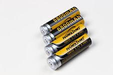 18650 Akku  6800 mAh,8,5 Wh 3,7 V Mega Batterie Li-ion 4er