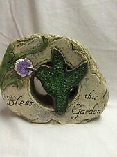 Bless This Garden- Hummingbird- Faux Stone