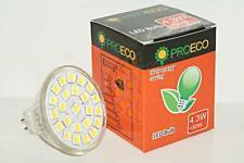 Natural White LED Bulb Light Lamp MR16 24SMD 4.3 W AC DC 12V