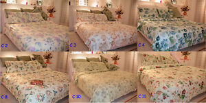 Wholesale 6 x 180TC Queen Size Quilt Duvet Doona Cover Sets Free Post