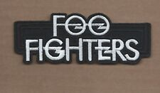 New 1 3/4 X 4 5/8 Inch Foo Fighters Iron On Patch Free Shipping