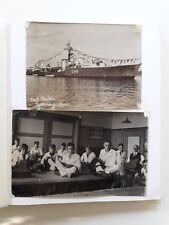 WW2 KONINKLIJKE MARINE photo album AUSTRALIA, TANK, SHIPS 70 original photos