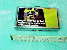 Bob Marley ss Cigarette Case, hold money, credit cards, ID Holder, Wallet. NICE.