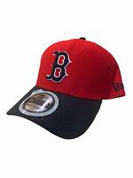 New Era Boston Red Sox 39Thirty Flexfit Cap Hat Red Blue Size Large XL New