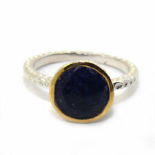 Sapphire Unbranded Sterling Silver Natural Fine Rings