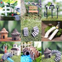 Figurine Crafts Plant Pot Ornaments Miniature Fairy Garden Decor Micro Landscape